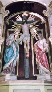 Altar del Calvario San Ignacio