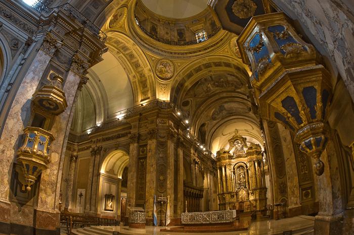 pulpito catedral metropolitana de buenos aires